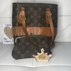 Louis Vuitton French Co Bucket bag PM with pouch